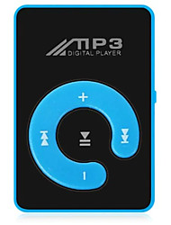 cheap -New Mini Mp3 Music Player Fashion SD TF Mirror Portable MP3 Player Clip Media Player Sport ButtonWalkman Lettore Black