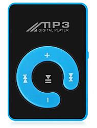 abordables -nouveau mini mp3 lecteur de musique mode sd tf miroir portable lecteur mp3 clip media player sport bouton bouton lettore noir
