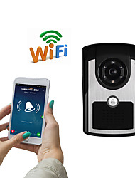 cheap -WIFI1001FC WIFI doorbell IP55 waterproof HD 1080P waterproof video doorbell call intercom remote unlock