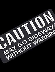 Недорогие -общие предупреждающие буквы стикер светоотражающие наклейки