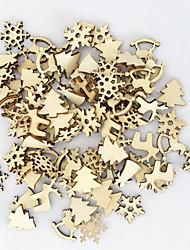 cheap -Christmas Holiday Plastic & Metal Mini Novelty Christmas Decoration