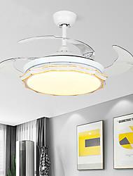 cheap -1-Light 108 cm Mini Style / Tri-color Ceiling Fan Metal Mini Painted Finishes LED / Modern 110-120V / 220-240V