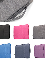 abordables -sacs à main de couleur unie pour sac d'ordinateur portable macbook pro air 11-15