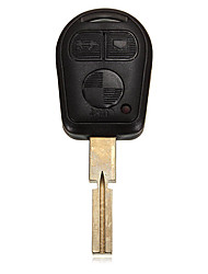 cheap -3 Buttons Remote Key Shell for BMW 3 5 7 series Z3 E46 E39 With Blade