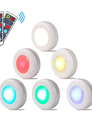 cheap -6pcs led night light color-changing aaa batteries powered