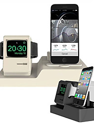 cheap -Stand Mobile Phone Watch Headset Charging Bracket Without Line Apple Silica Gel Desk / Bed Pure Placement Bracket