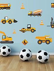 Недорогие -Декоративные наклейки на стены - Простые наклейки Геометрия Детская