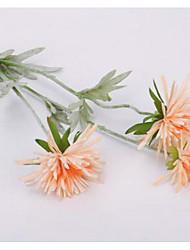 Недорогие -Искусственные цветы Пластик Свадебные цветы Букеты на стол 3