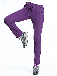 cheap -Women's Hiking Pants Outdoor Breathable Quick Dry Stretchy Comfortable Pants / Trousers Bottoms Camping / Hiking Hunting Fishing Dark Grey Purple Fuchsia S M L XL XXL - Wolfcavalry® / Wear Resistance