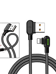 cheap -Lightning Cable Braided Canvas USB Cable Adapter For iPad / iPhone
