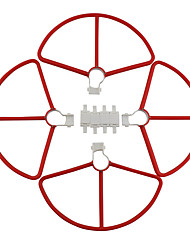 cheap -Hubsan Zino H117S 4 PCS Propeller Guards ABS+PC Removable / Easy to Install / Durable