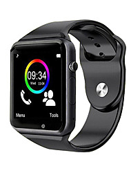 cheap -A1S Smart Watch BT Fitness Tracker Support Notify/SIM-card/ Heart Rate Monitor Sports Smartwatch Compatible Samsung/ Android/ Iphone