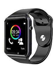 abordables -podomètre de sport montre intelligente bluetooth a1s montre-bracelet avec smartwatch caméra sim