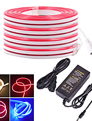 cheap -KWB 5m Flexible LED Light Strips 600 LEDs SMD3528 12mm Warm White / White / Red Waterproof / Creative / Cuttable 12 V 1 set
