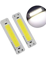 cheap -60*15mm LED 5V chip cob 2W COB LED Strip Light Source Bar Lamp DIY USB table lamp LED 5V Panel