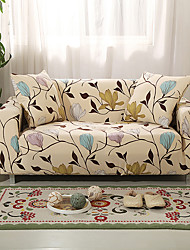cheap -Sofa Cover High Stretch Leaves Combinatorial Soft Elastic Polyester Slipcovers