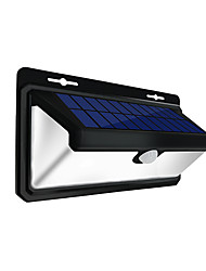 Недорогие -1шт 4.5 W Внешние настенные светильники / Светодиодный уличный фонарь / Солнечный свет стены Водонепроницаемый / Работает от солнечной энергии / Инфракрасный датчик Белый 3.7 V