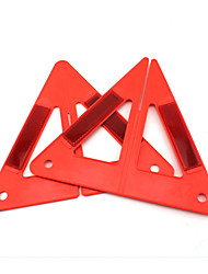 cheap -Portable Auto Car Red Safety Emergency Reflective Combined Type Warning Triangle