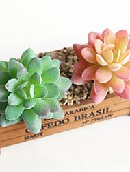Недорогие -искусственные цветы 1 ветка каменный цветок классический современный современный деревенский сочные растения настольный цветок