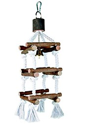 cheap -Bird Perches & Ladders Pet Friendly Focus Toy Felt / Fabric Toys Bird Wood 30 cm