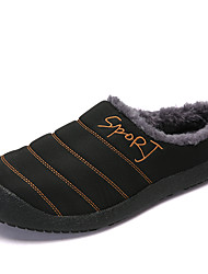 cheap -Men's Comfort Shoes Polyester Winter Casual Slippers & Flip-Flops Warm Black / Camel / Army Green