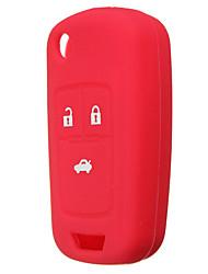 Недорогие -3 кнопки силиконовый чехол для ключа держатель защитного чехла для Chevrolet