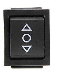 cheap -12 Volt 6-Pin DPDT Power Window Momentary Rocker Switch AC 250V/10A 125V/15A