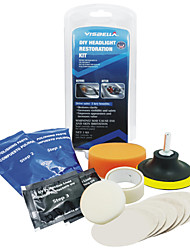 cheap -Car Headlight Lens Restoration Kit System Professional Restorer Polishing Protection Tool Kit Auto Light Polishing Cleaner