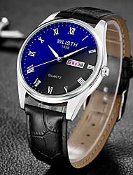 cheap -WLISTH Men's Digital Watch Analog Quartz Casual Calendar / date / day Noctilucent Day Date