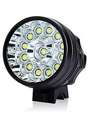 Недорогие -Светодиодная лампа Велосипедные фары Передняя фара для велосипеда LED Горные велосипеды Велоспорт Велоспорт Водонепроницаемый Супер яркий Безопасность Портативные Перезаряжаемая батарея 18650 9800 lm