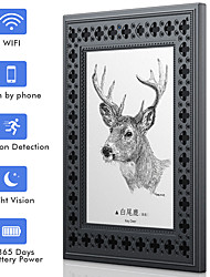 cheap -SDETER WiFi Photo Frame Hidden Spy Camera HD 720P Rechargeable Battery Camera with Night Vision Motion Detection for Home Office Security(Photo Frame Pattern Random Delivery)