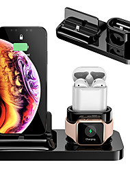 cheap -3 in 1 Magnetic Charge Stand Holder For iPhone X iPhone XS iphone xs max iPhone 8 iPhone 8Plus / Airpods / Apple iWatch 4/3/2/1