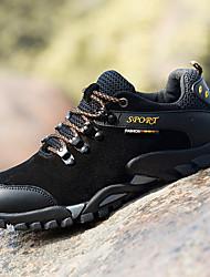 cheap -Men's Hiking Shoes Lightweight Breathable Anti-Slip Comfortable Hiking Climbing Autumn / Fall Spring Black Gold Grey Dark Blue