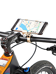 cheap -Bike Phone Mount Adjustable Anti-Slip Anti-Shake / Damping for Road Bike Mountain Bike MTB Aluminum Alloy Cycling Bicycle Blue Grey Champagne
