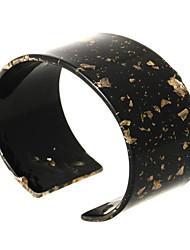 cheap -Women's Cuff Bracelet Geometrical Happy Casual / Sporty Fashion Resin Bracelet Jewelry Orange / Purple / Dark Red For Gift Daily