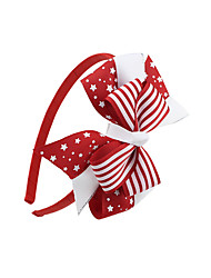 Недорогие -Жен. Назначение Подарок фестиваль американский флаг Ткань Красный Синий 1шт
