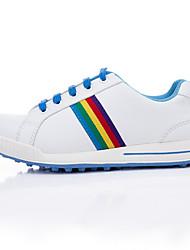 cheap -TTYGJ Boys' Girls' Golf Shoes Waterproof Anti-Slip Comfortable Golf Autumn / Fall Spring Blue Pink