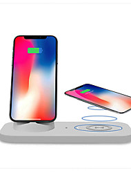 cheap -Universal 3 in 1 Wireless Charger Desktop Stand  Bracket with Charging Base