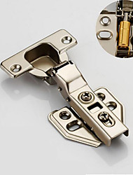 cheap -Cold rolled steel bending and detachable hinge 304 stainless steel cabinet door hinge aircraft pipe hinge wardrobe damping hydraulic buffer hinge