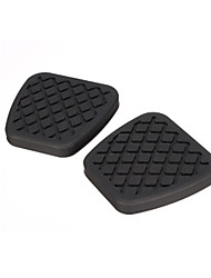 cheap -2X Brake Clutch Pedal Pad Rubber Cover For Honda /Civic /Accord /CR-V Prelude /Acura