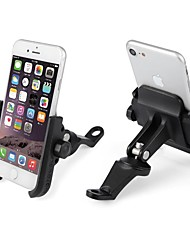cheap -Aluminium Alloy Motorcycle Phone Holder  Cell Phone GPS Mount Holder  Phone Support  Bracket Mount