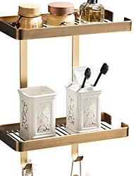 Недорогие -Полка для ванной Креатив / Многофункциональный Современный Латунь 1шт На стену