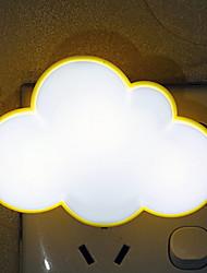 cheap -1pc Wall Plug Nightlight Color-changing Creative 220-240 V