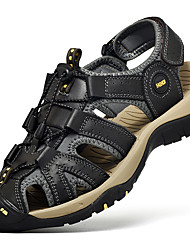 cheap -Men's Hiking Shoes Breathable Comfortable Travel Walking Summer Black Brown Blue