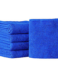 cheap -30*30cm Soft Microfiber Fiber Buffing Fleece Car Wash Towel Absorbent Dry Cleaning Kit Set for Car