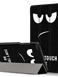 cheap -Case For Lenovo Lenovo Tab E8(TB-8304F) / Lenovo Tab E7(TB-7104) / Lenovo Tab 7 Essential Shockproof / with Stand / Ultra-thin Full Body Cases Cartoon Hard PU Leather