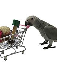 cheap -Bird Perches & Ladders Pet Friendly Focus Toy Felt / Fabric Toys Bird Plastic Metal 11 cm