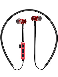 cheap -in ear bluetooth headphones with tf card slot noise cancelling sports magnetic bluetooth headset
