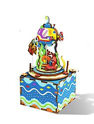 abordables -Mignon Jouets étranges Simulation Dome Vacances Thème de conte de fées Ville / Drapeau 2 pcs Enfant Adolescent Tous Jouet Cadeau