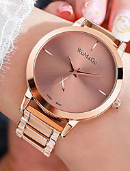 cheap -Women's Quartz Watches Quartz Stylish Casual Water Resistant / Waterproof Analog Rose Gold Black Gold / One Year / Stainless Steel / One Year